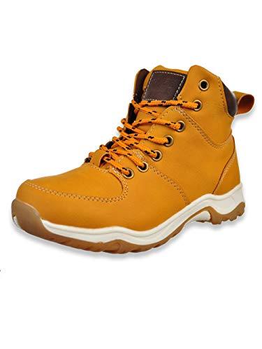 Joseph Allen Boys Hiking Style Comfort Work Boots (Little Kid, Big Kid) (9 Toddler, Black)