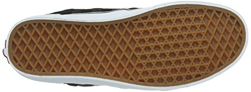 Vans M ATWOOD (SUEDE CHECKERS - Zapatillas de cuero para hombre negro - Schwarz ((Suede Checkers / DYC)