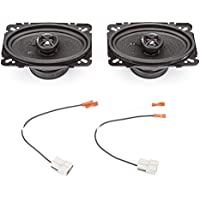 1988-1995 Chevrolet Van (Full Size) Complete Premium Factory Replacement Speaker Package by Skar Audio