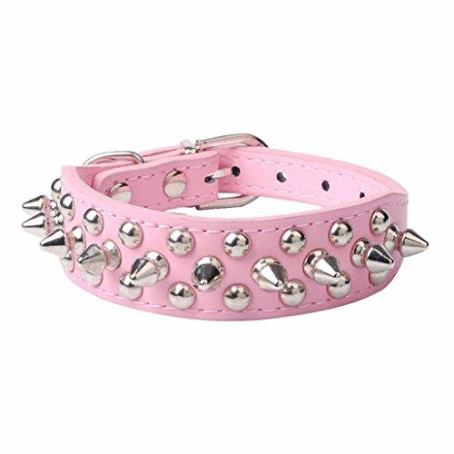 Ninasill Clearance ! Pet Collar, Hot Cute Adjustable Leather