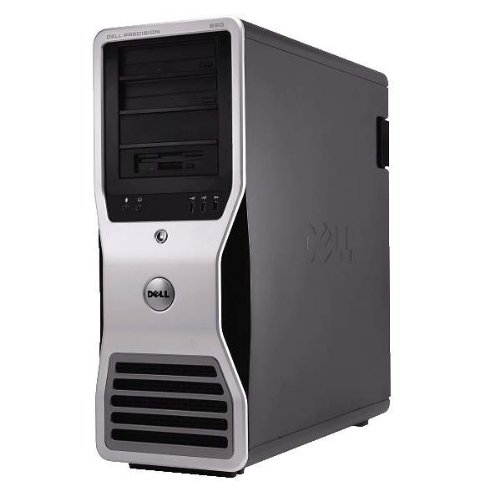 Fast Dell Precision 690 Workstation Xeon 1.6ghz Core 2 Cpu 6gb Ram 250gbhd No Os
