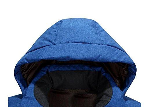 preservation hooded men's heat Winter XXXL cut blue jacket short outdoor HHY down qSIwx5Fw