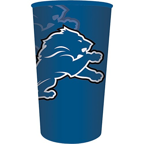 Detroit Lions 22oz Plastic Stadium Cup (1 ct)