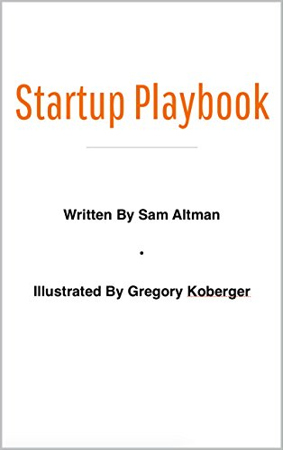 Startup Playbook Sam Altman ebook product image