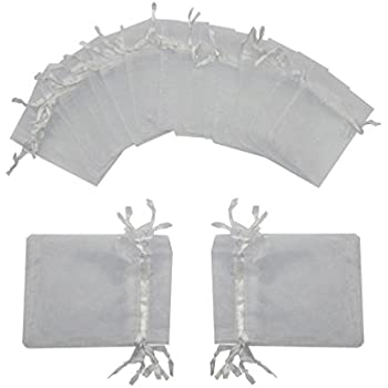 Amazon.com: SumDirect 100PCS 3x4 Inches Organza Gift Bags ...