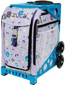 ZUCA Sport Insert Bag - PEACE (Purple with Peace Signs) / 89055900384