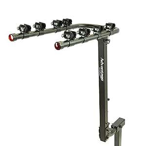 Amazon.com: Advantage TiltAWAY 4-Bike Rack: Automotive
