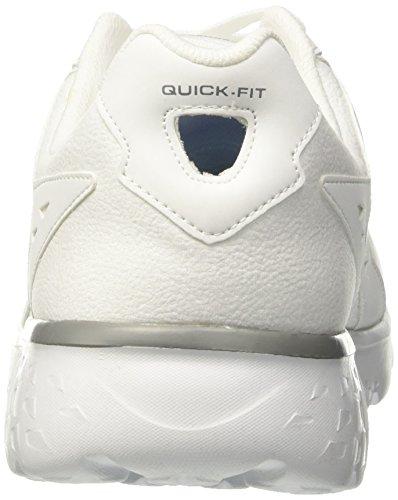 Skechers Accelerate White Bianco Scarpe Run Uomo Running 400 Go Performance r8zIqrS