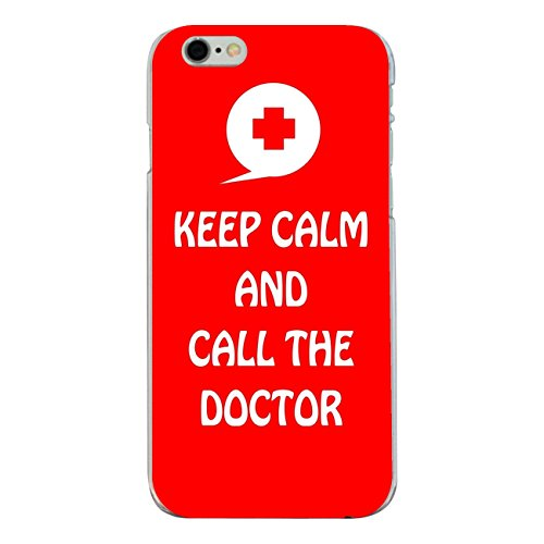 """Disagu Design Case Coque pour Apple iPhone 6s Housse etui coque pochette """"KEEP CALM AND CALL THE DOCTOR"""""""