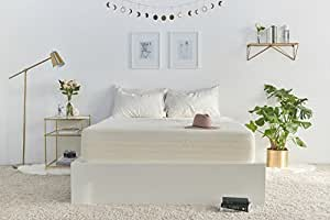 Brentwood Home Bamboo Mattress, Gel Memory Foam, 13-Inch, Queen