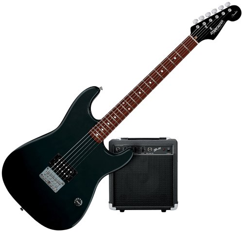 Amazon.com: Starcaster by Fender 1 Humbucker Strat Electric Guitar ...