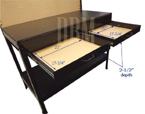 Multipurpose Workbench Cabinet Light Garage Workstation Tool Holder Storage by Generic (Image #4)
