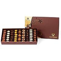 SCHÖNE SCHOKOLADE SPESİYAL ÇİKOLATA, Bayram ve Özel Günler için Premium Karışık Hediye, Gurme Çikolata, Doğal ve Sağlıklı, 62 Adet, 700 GR