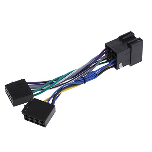 Homyl ISO Stereo Headunit Harness Adaptor Wiring Loom: Amazon.co.uk: Electronics