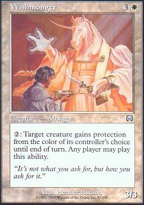 - Magic: the Gathering - Wishmonger - Mercadian Masques - Foil