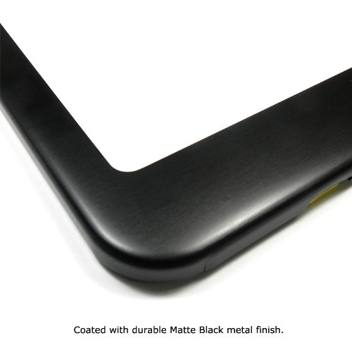 Jeep Matte Black Metal License Plate Frame Car Beyond Store
