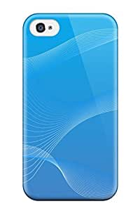 Audrill PRCerks2327AkwNi Protective Case For Iphone 4/4s(abstract Blue ) by icecream design