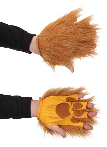 elope Lion Brown Fingerless Costume -