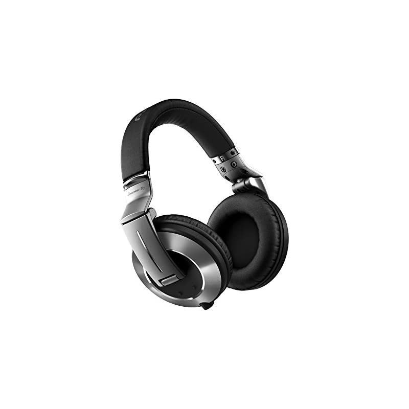Pioneer DJ DJ Headphone, Silver (HDJ-200