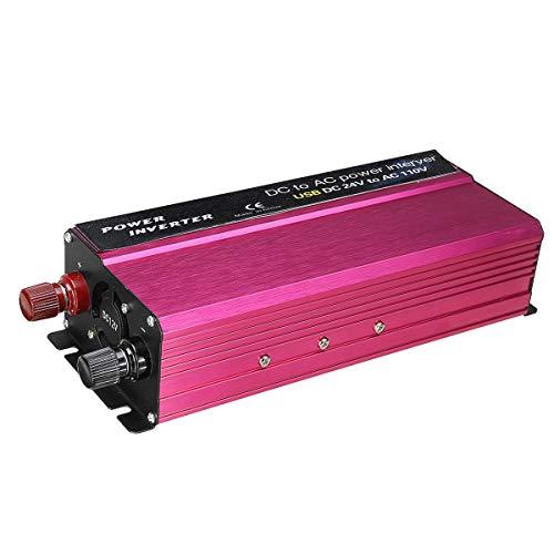 Anddoa 1500W LED Solar Power Inverter 12/24V to 110/220V Modified Sine Wave Converter - 12V-220V by Anddoa (Image #6)