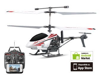 2013 NEW!!! JXD 352W 3.5CH Wifi/Radio Dual Remote Controller, Real-Time Video Transmission RC Helicopter w/ Gyro (Download Free App :uFeEagle)