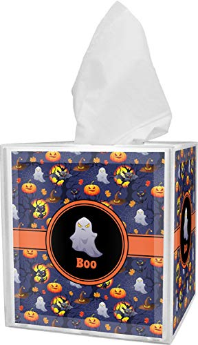 RNK Shops Halloween Night Tissue Box Cover (Personalized) -