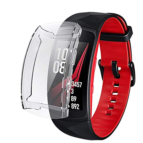 iHYQ Screen Protector Case for Samsung Gear Fit 2 Pro,TPU Full Protection Scratch ResistantCover Slim for Samsung Gear Fit2 Pro