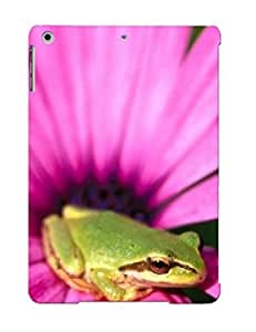 High Quality FxRDmRk798fteEV Frog On Pink Tpu Case For Ipad Air