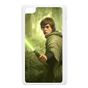 iPod 4 White Cell Phone Case HUBYLW1931 Star Wars Luke Skywalker Personalized Cheap Phone Case Cover