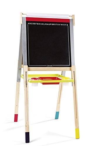 Janod Height Adjustable Black and White Board by Janod