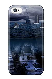 Iphone 4/4s KollQzx9549urvlQ Post Apocalyptic Tpu Silicone Gel Case Cover. Fits Iphone 4/4s