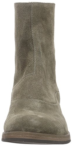 Boots Classic Grey Length Boot Elephant Grau Short Women's Back Mentor Zip Cold Lined AYT0Ygw