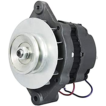 new alternator saej1171 for mercruiser pcm pleasurecraft omc inboard  replaces oem mando & motorola a000b0331 ac155603 ac155604 ac155614