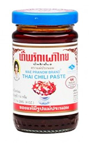 Mae Pranom Thai Tom Yum Chili Paste for Tom Yum Soup 114g (4 oz)