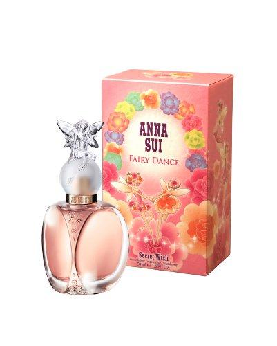 Anna Sui Fairy Dance Secret Wish Eau de Toilette Spray for Women, 1.7 Ounce