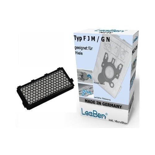 #s4_GR - Sacs aspirateurs - Pour Miele PARKETT & CO 5000 S 5260 S 5261 - Lot de 10 - + 1 filtre HEPA