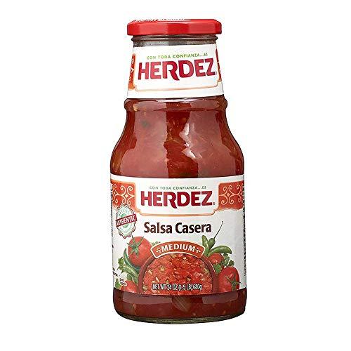 Herdez Medium Casera Salsa, 24 Ounce -- 12 per case.