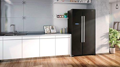 Amerikanischer Kühlschrank Freistehend : Side by side kühlschrank freistehend haier hrf ig side by side
