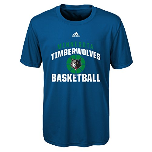 fan products of NBA Rep Big Performance Short Sleeve Tee-Black-XL(18), Minnesota Timberwolves