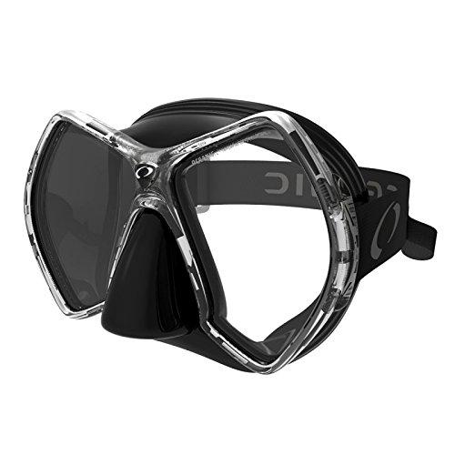 - Oceanic Cyanea Ultra Scuba Mask Clear Lens (Clear/Black/Titanium)