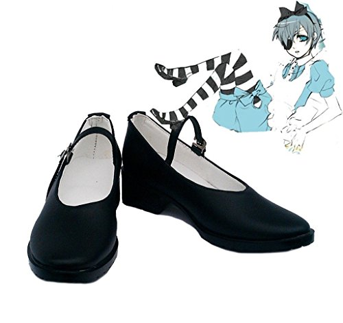 Bromeo Black Butler OVA Kuroshitsuji Ciel Alice Cosplay Chaussure