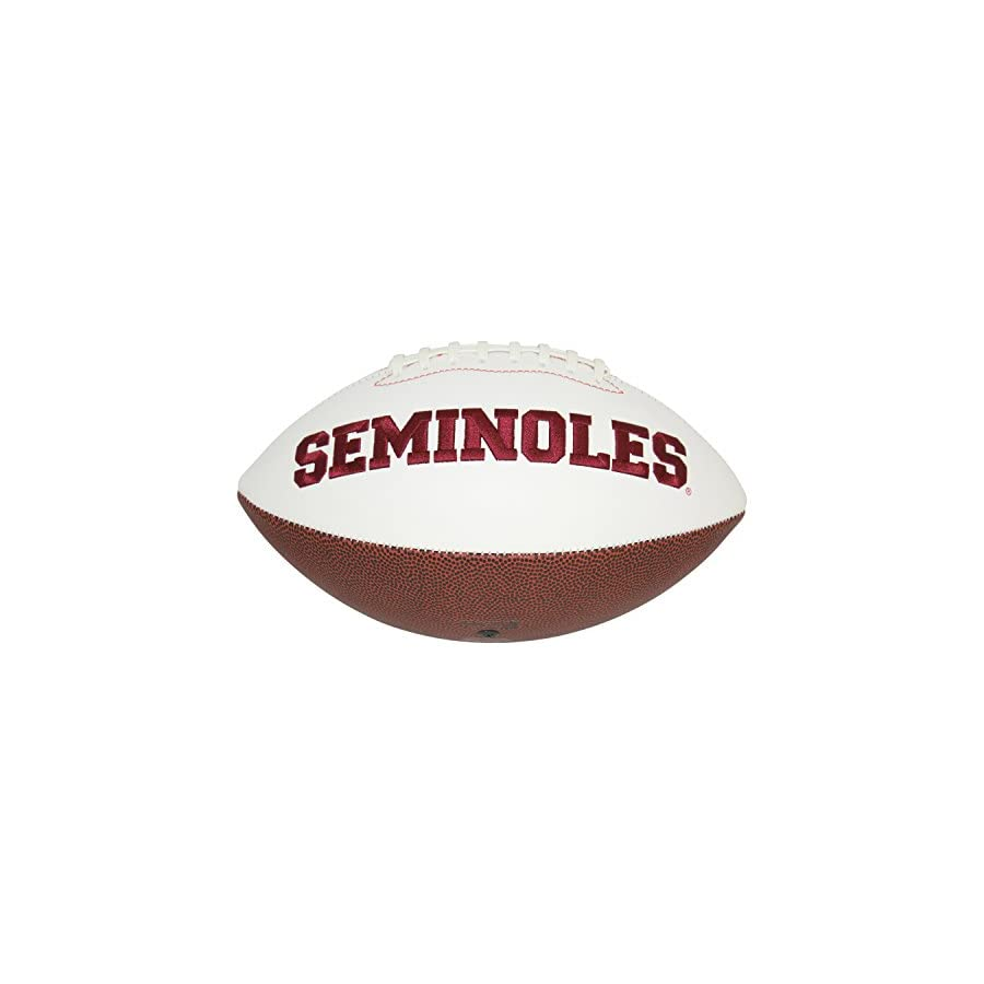 Derrick Brooks Florida State Seminoles Autographed Signed White Panel Football PSA/DNA Authentic
