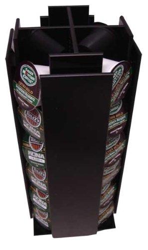 Keurig 4 Sleeve K-cup Coffee Pod Storage Carousel holder, Holds 24 Kcups