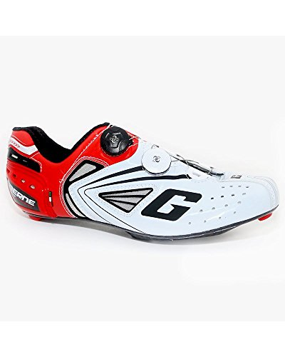Gaerne Carbon Speedplay G.Chrono Scarpe Road Ciclismo, Red - 42