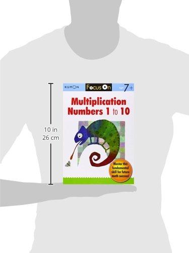 Kumon Focus On Multiplication: Numbers 1-10: Kumon Publishing ...