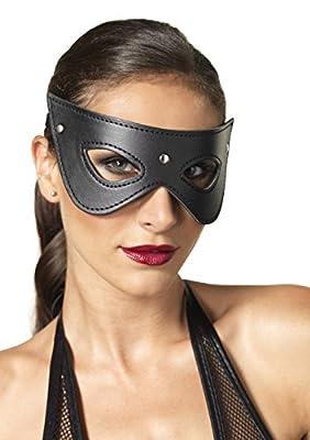Leg Avenue Women's Kink By Faux Leather Studded Eye Mask