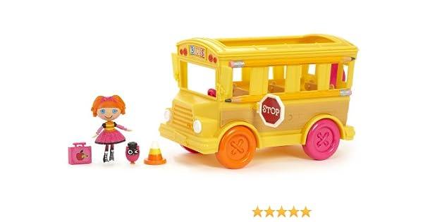 MGA Entertainment 506768E4C - El bus escolar de Lalaloopsy Bea (incluye 1 figura de 7,5 cm) [importado de Alemania]