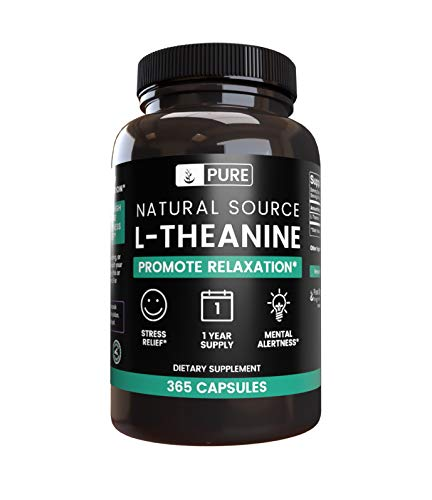 Pure L Theanine Magnesium Vegetarian Undiluted product image