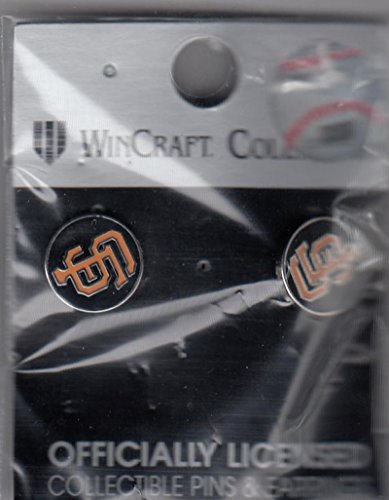 San Francisco Giants Wincraft Collection Earrings fully licensed in packaging