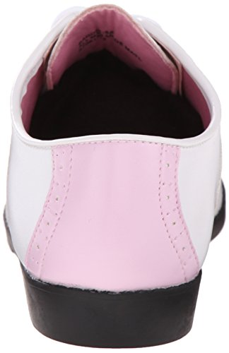 Oxford Pu Donna Scarpe B Wht Pink 50 Saddle Pleaser Rosa tzqOfwZ